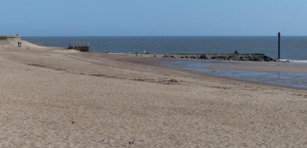 The beach at Skegness in Lincolnshire kept its Excellent rating in 2018 for the fourth year in a row.