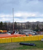 Marcellus Shale extraction well