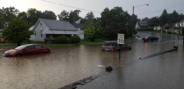 Extensive flooding hit the Lynchburg, Va., area during 2018.
