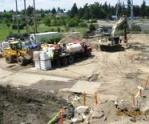 Dual axis blender with GPS location system goes to work at a Washington remediation site.