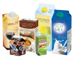 Cartons are made mainly with renewable resources, have a low-carbon footprint across their lifecycle, and are highly recyclable.